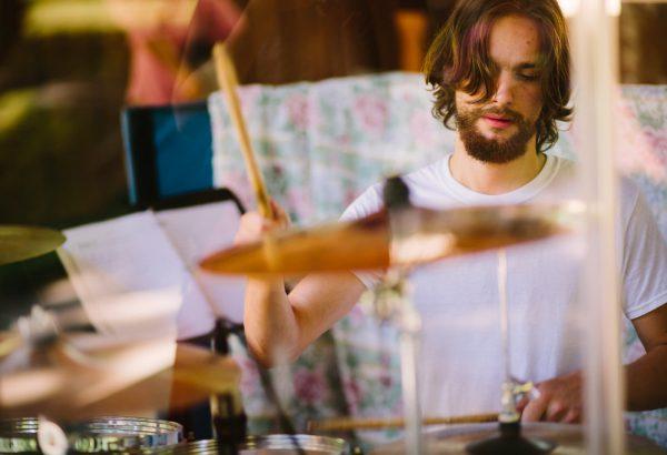 Zach on Drums