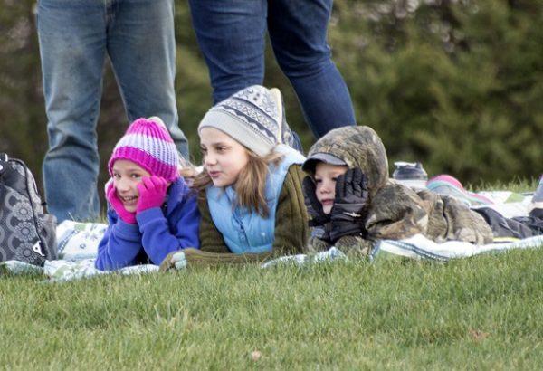 Cute spectators!